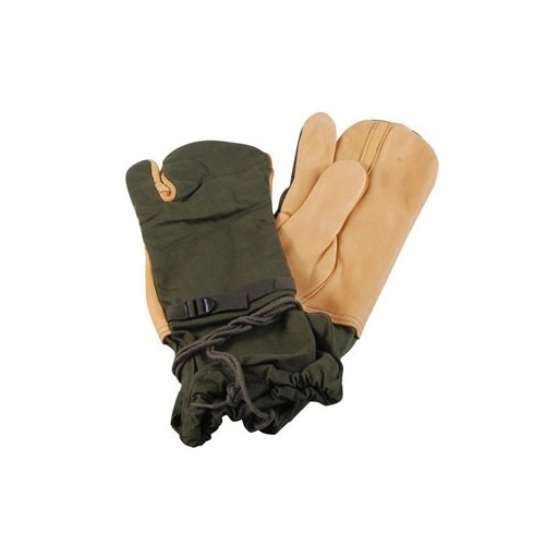 GENUINE SURPLUS Mitts, Trigger Finger, Outer, US Issue, Medium