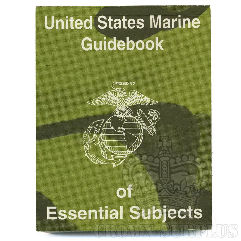 Book - U.S. Marine Guidebook of Essential Subjects