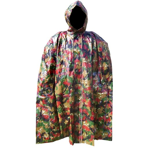GENUINE SURPLUS Poncho, Swiss, Alphenflage, Cape