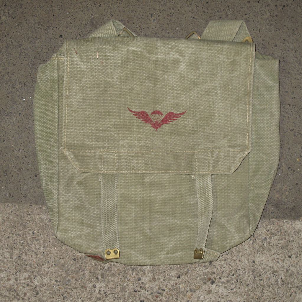ROYAL RAGS Dutch Canvas Backpack