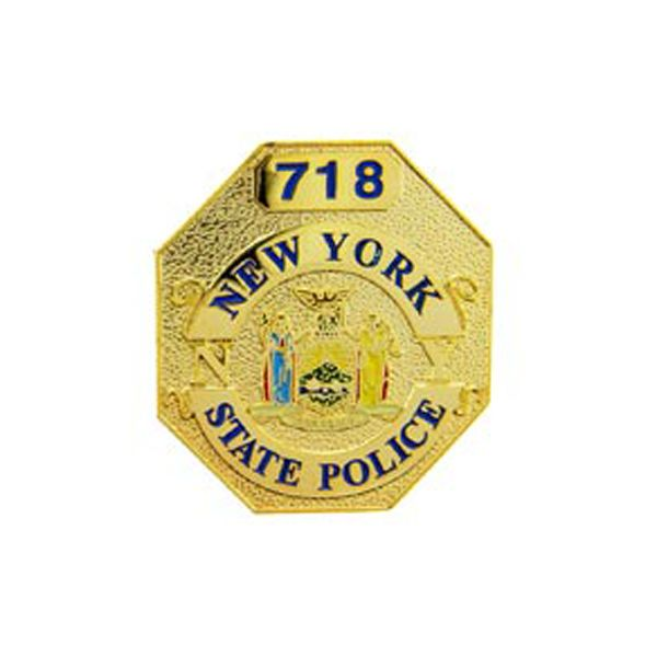 Pin - New York State Police Badge