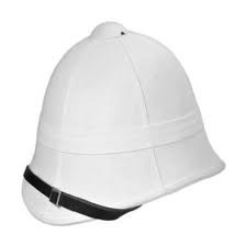 Helmet - Sun - Foreign Service - Pattern 1877 Type UK - White