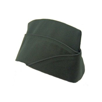 GENUINE SURPLUS Cap, Overseas, [Wedge/Field Service Cap] Green