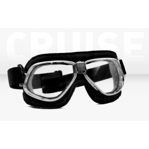 NANNINI ITALY Goggles - Nannini - Cruiser 6200 - Black/Grey Antifog Lens