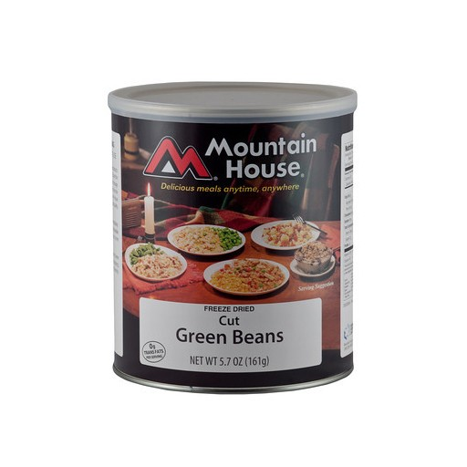 Rations - #10 Cans - MH - Beans - Green Cut