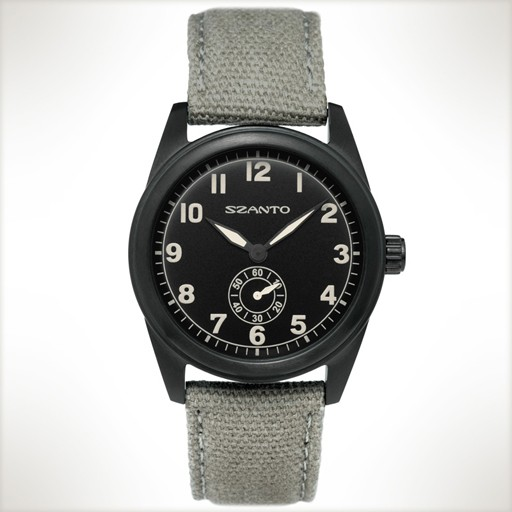Szanto, 1004 Black/ Light Grey Strap