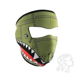ZAN ZAN Headgear, Neoprene Full Mask, Bomber