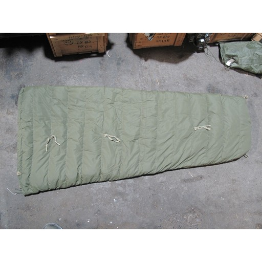 GENUINE SURPLUS Sleeping Bag, Inner, Arctic, CF. Issue, Surplus