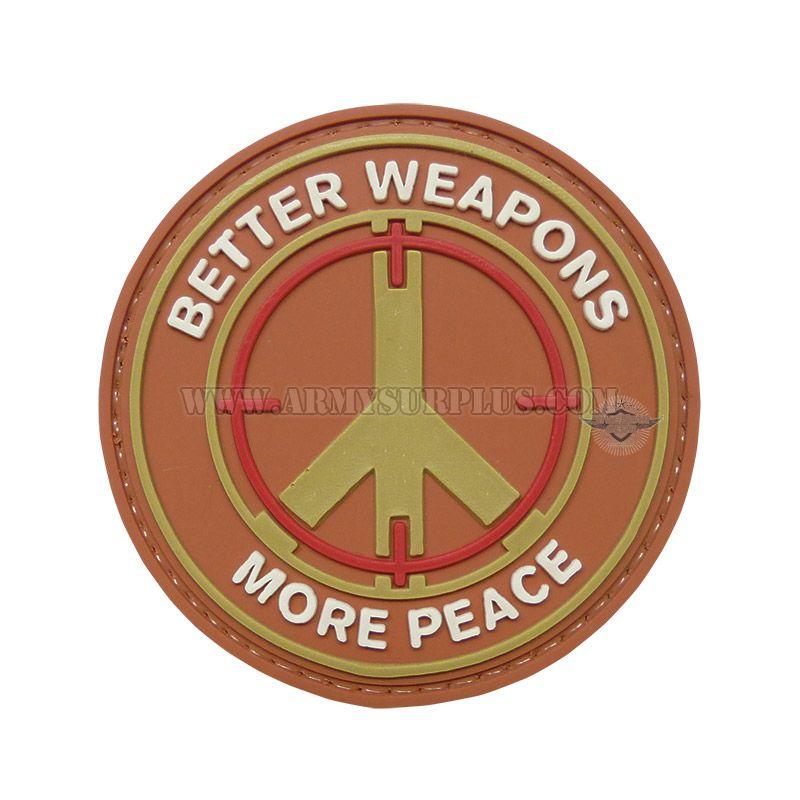 TRU-SPEC TRU-SPEC, Better Weapons Patch, PVC
