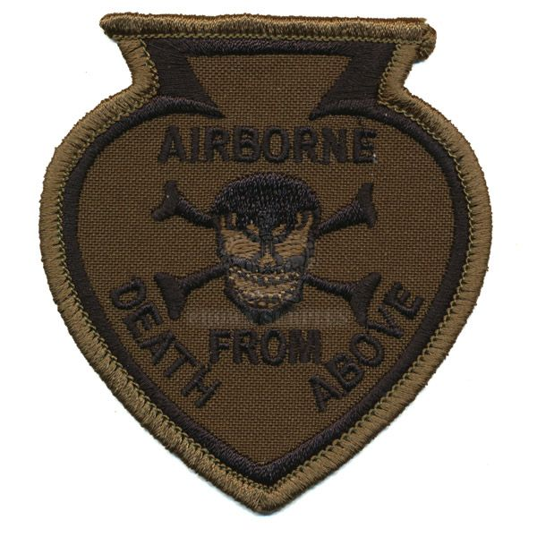 Patch - Airborne - Death from Above - Woodland