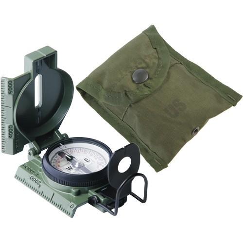 CAMMENGA CAMMENGA, Model 27 Lensatic Compass, Phosphorescent, Green