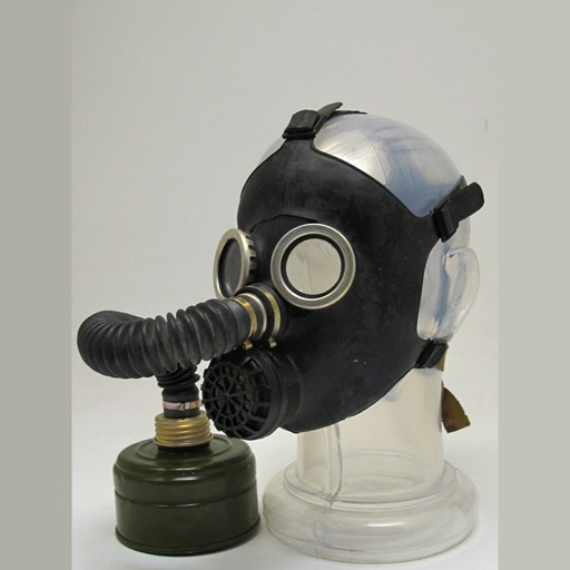 GENUINE SURPLUS Gas Mask - Russian Childern Type 2 - Black - New Issue