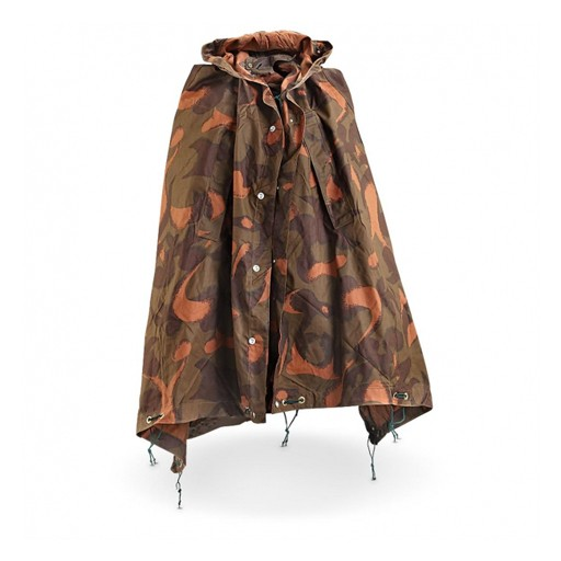 GENUINE SURPLUS Hungarian Camo Half-Shelter & Poncho
