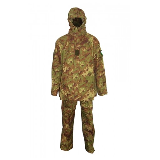GENUINE SURPLUS Italian Issue, Goretex Set, Vegetato Camo, X-Large, 3 pc