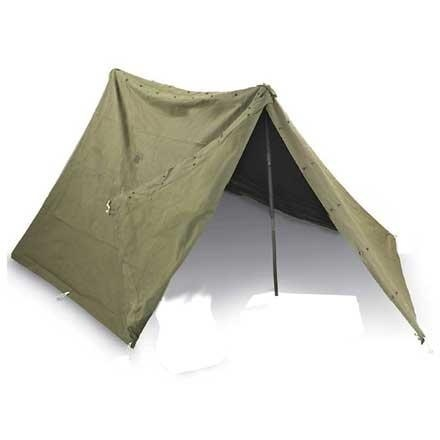 GENUINE SURPLUS Tent - Pup 2-Man - Canvas - US Issue