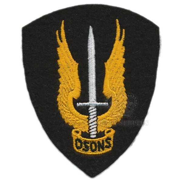 Patch - Special Service Force - ''OSONS'' - CF Green