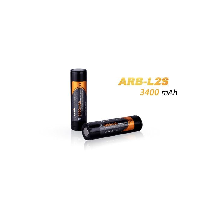 FENIX Battery, ARB-L2 18650, 3400mAh, Fenix