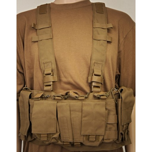 Eagle Industries,  Chest Rig, Coyote Brown, New