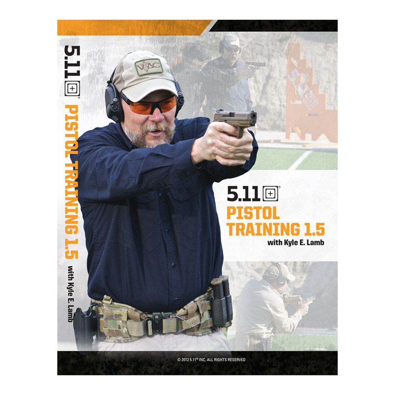 5.11 TACTICAL 5.11 Tactical, Pistol Training 1.5 DVD