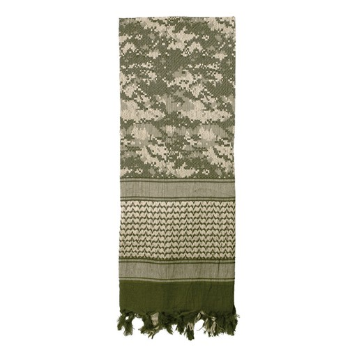 ROTHCO Shemagh Tactical Desert Scarf, ACU Digital