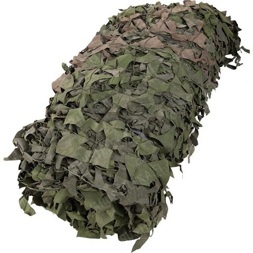 GENUINE SURPLUS Camouflage Netting, Canadian, 10' x 10', Woodland