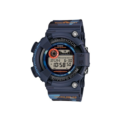G-Shock G-Shock, GF8250CM-2, FROGMAN, Blue Camo/Orange, Limited