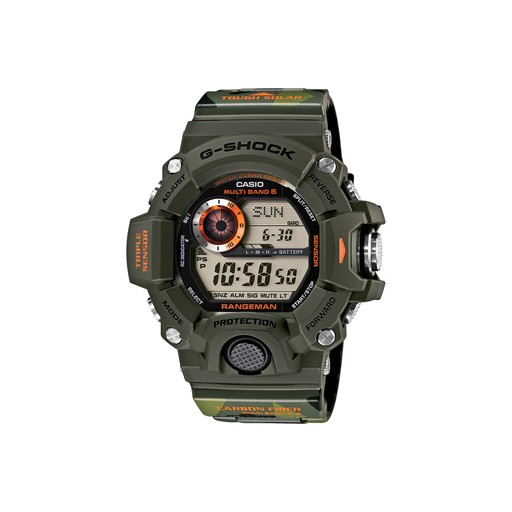 G-Shock G-Shock, GW9400CMJ-3, RANGEMAN, Green Camo/Orange, Limited