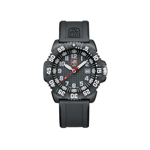 LUMINOX Luminox, Navy Colourmark Series, 25 Anniversary, Carbon Case, Black/White