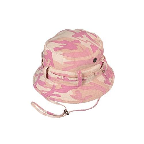 BRONER HEADWEAR Broner, Pink Camo Ripstop Boonie, One Size Fits Most