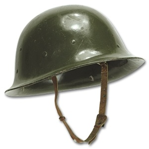 GENUINE SURPLUS Chinese, Fiberglass Helmet