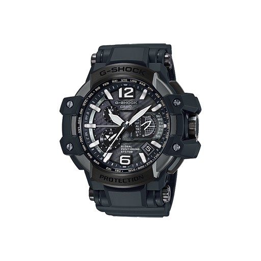 G-Shock ntroducing a new special model based on the GPS hybrid radio-controlled solar-powered G-SHOCK GRAVITYMASTER Series GPW-1000 model that keeps timekeeping accurate by receipt of both location based GPS signals and one of six time calibration signals around