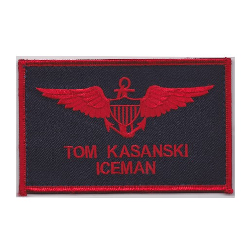 GENUINE SURPLUS Top Gun Patch, Iceman