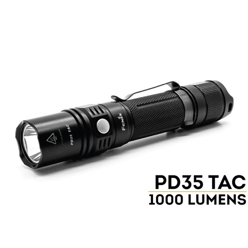 FENIX Fenix, PD35 Tactical Edition FlashLight, 1000 Lumens