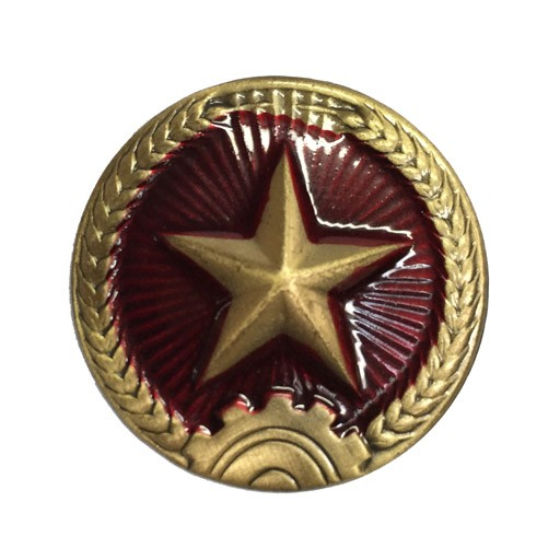 GENUINE SURPLUS Genuine Surplus. Chinese Hat Pin, Red Star