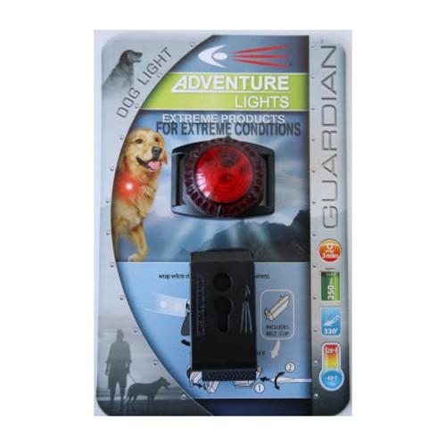 ADVENTURE LIGHT Adventure Lights, Guardian Dog Light, Dual Function, Red