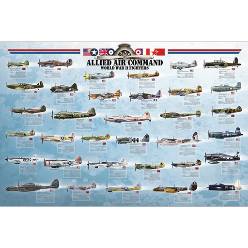 EUROGRAPHICS Poster - Allied Air Command
