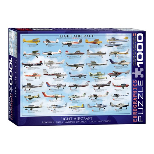 EUROGRAPHICS Eurographics, Puzzle, Light AirCraft, 1000 pieces