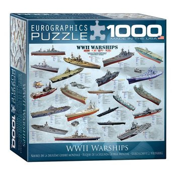 EUROGRAPHICS Eurographics, Puzzle, WWII War Ships, 1000 pieces