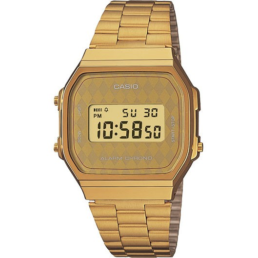 G-Shock Casio, Classic, Vintage Gold, Gold Face,  A168WG-9