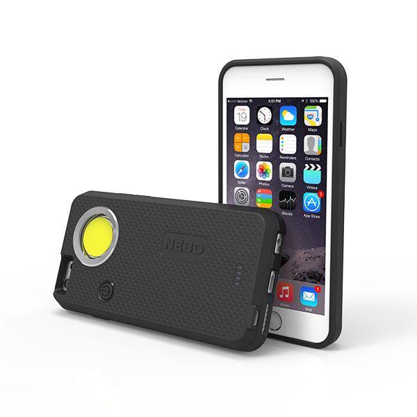 NEBO NEBO, CaseBrite iPhone 6/6S, Black