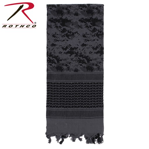 ROTHCO Shemagh, Tactical Desert Scarf, Subdued Urban Digital