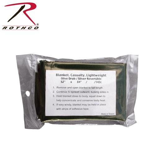ROTHCO Rothco, G.I Lightweight Survival Blanket