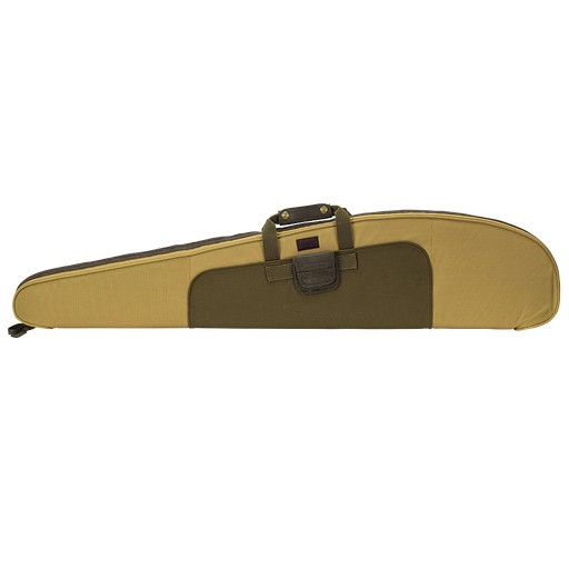 Seeland, Canvas 52''  Khaki Ridgid Rifle Case W/ Shoulder Strap