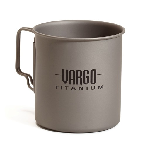 VARGO Vargo Outdoor Gear, Titanium 450 Travel Mug