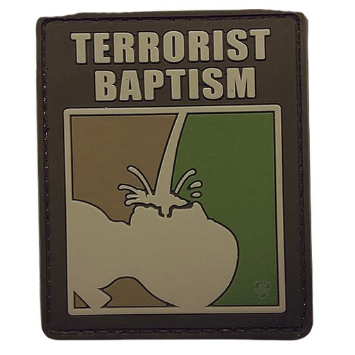 FIVE STAR GEAR Five Star Gear, Morale Patch, Terrorist Baptism