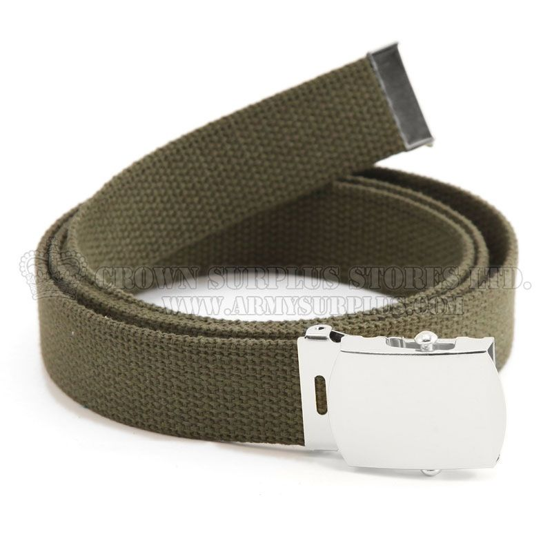 ROTHCO Military Web Belt, Olive Drab