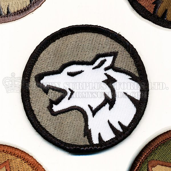 MIL-SPEC MONKEY Patch - Wolf Head - Velcro Back