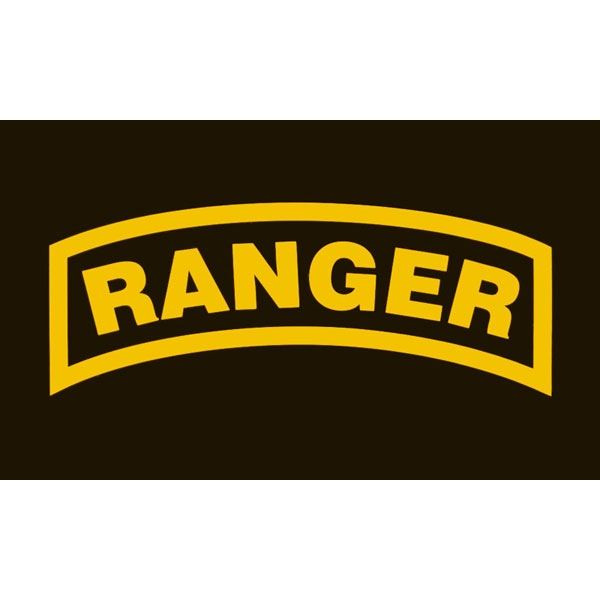 Flag, Ranger, Gold