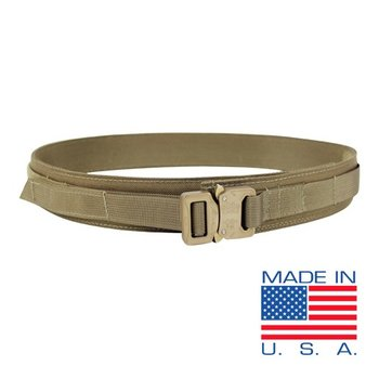 CONDOR The Condor Cobra Gun Belt is designed be worn with most casual or tactical pants. The stiffened belt, with heavy duty webbing, is ideal to accommodate any belt holster, MOLLE pouches, or any other belt accessories. The US1019 with it's Cobra Buckle TM, ca