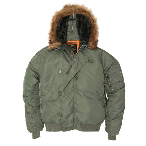 ALPHA INDUSTRIES INC. Parka, N2B, Alpha Industries, Corinth Sage, US Made